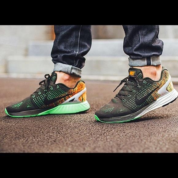 size 40 fb9af ac8c2 Nike Lunar-glide 7 Flash Shoes Womens 💚 sz 8. M 5ad4d5b6739d480465862edf